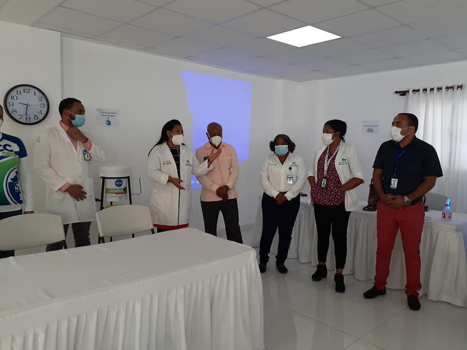 DPS Sánchez Ramírez, Socializa lineamientos técnicos para jornada de vacunación contra la COVID-19″.