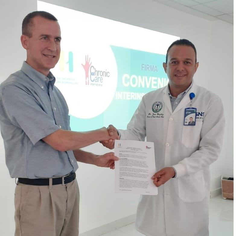 Hospital Dr. Sigifredo Alba Dominguez   Firma Convenio para Control de Pacientes Crónicos